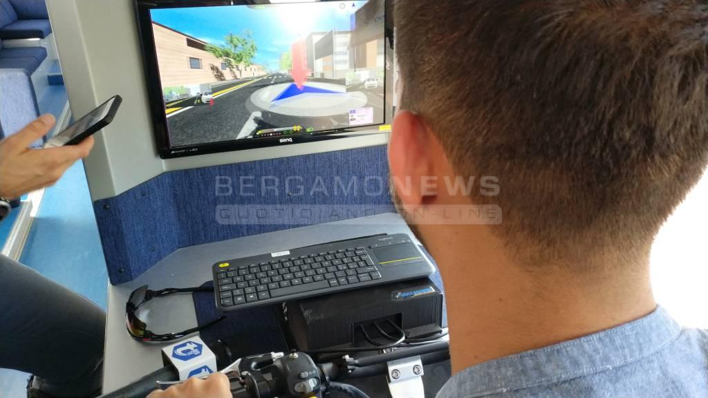 Giornata sicurezza alla guida in Brebemi