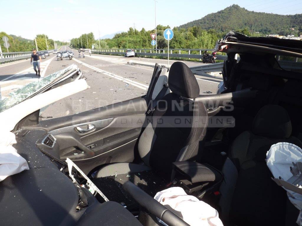 Il drammatico incidente a San Paolo d'Argon