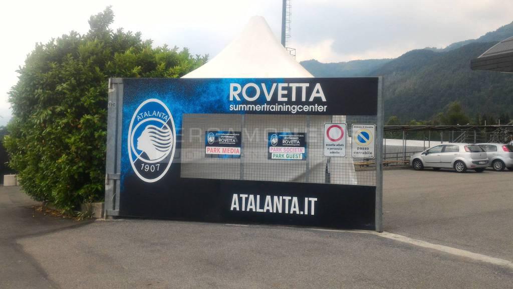 L'Atalanta a Rovetta