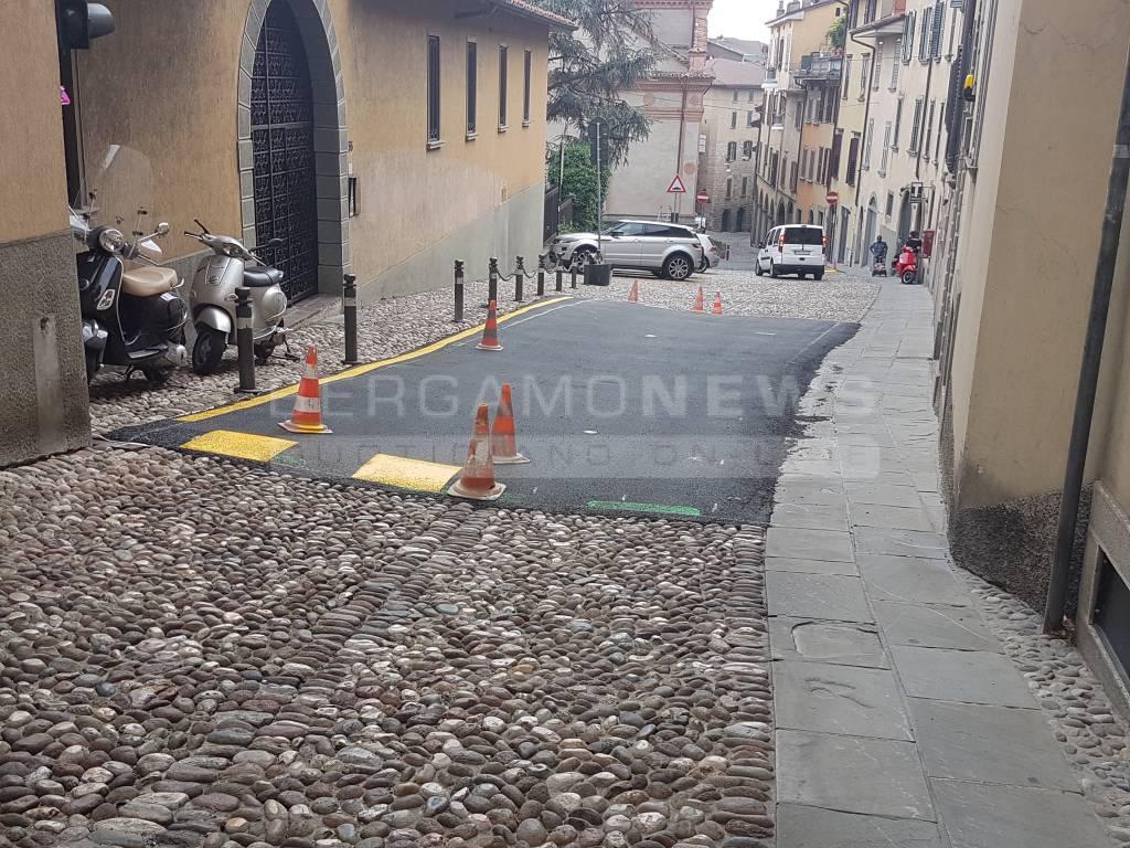 Lavori via Sant'Alessandro