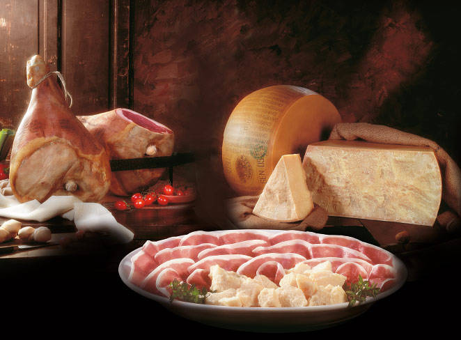 parmigiano prosciutto