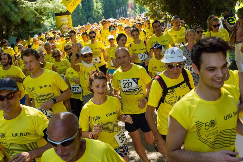 Uni Run: la corsa non competitiva per i 50 anni dell'Unibg