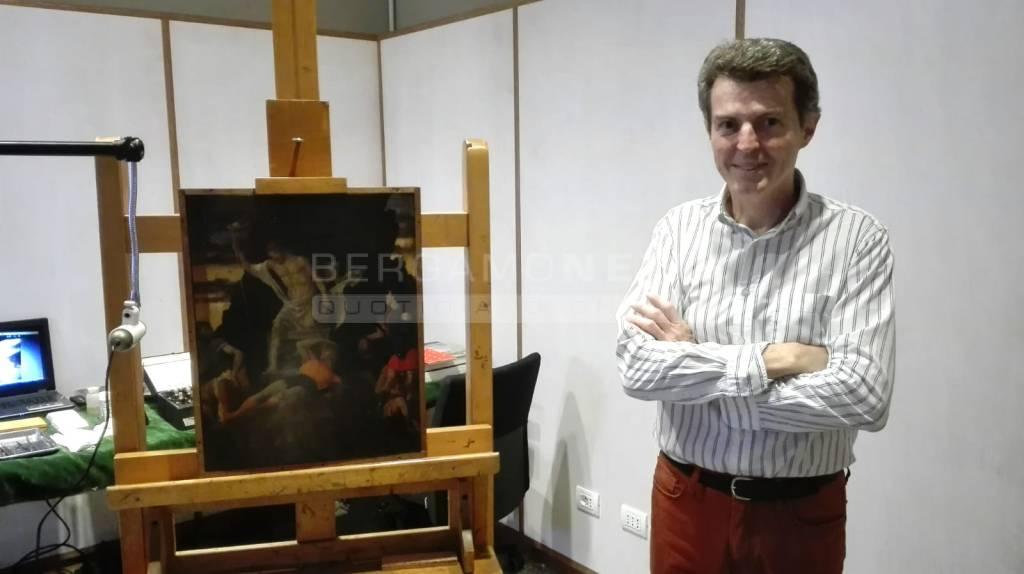 Accademia Carrara, il restauro del Mantegna ritrovato