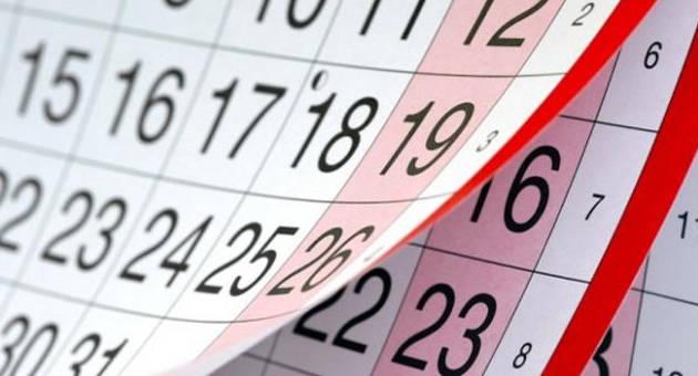 Calendario Settimane Anno 2019.Vacanze Scolastiche A Pasqua 2019 Super Ponte Di 2