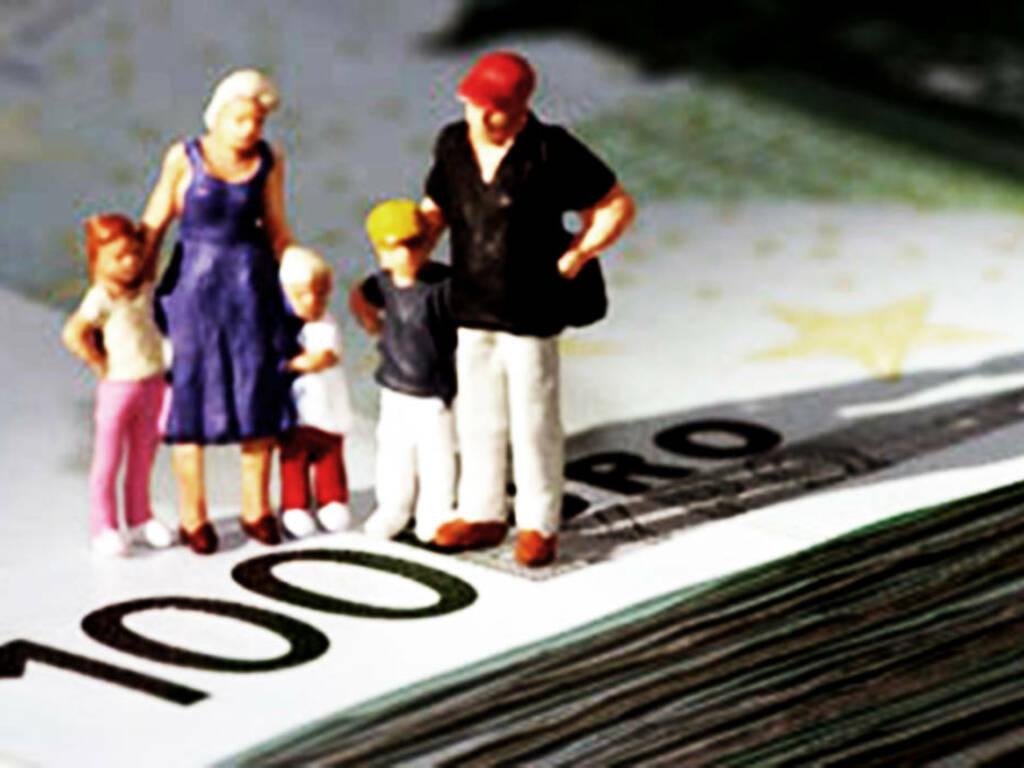 famiglie indebitate
