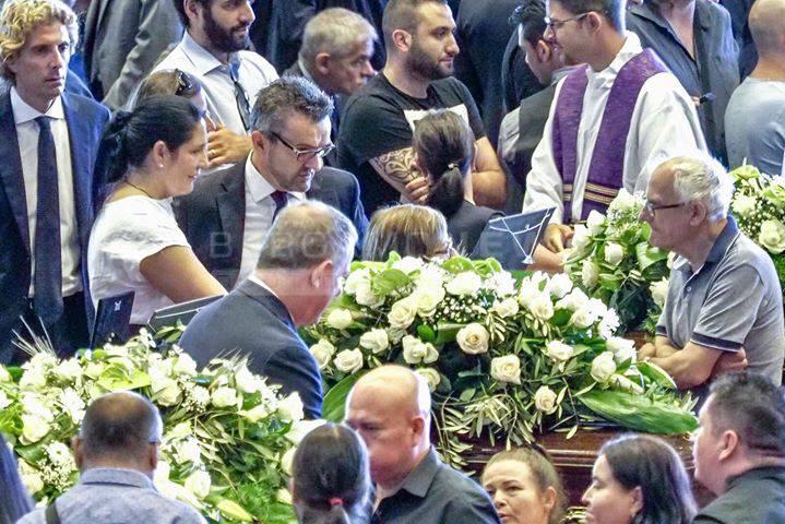 funerali ponte genova