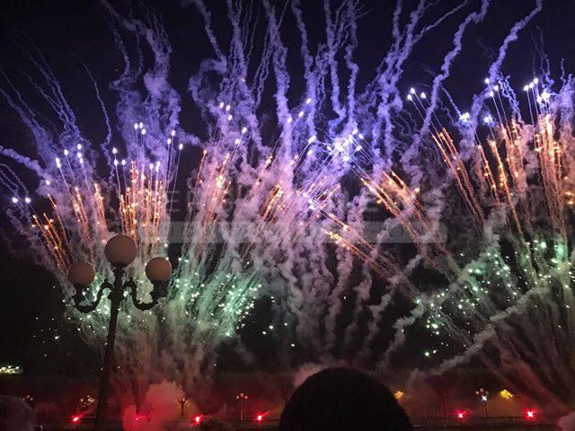 Fuochi d'artificio a San Pellegrino