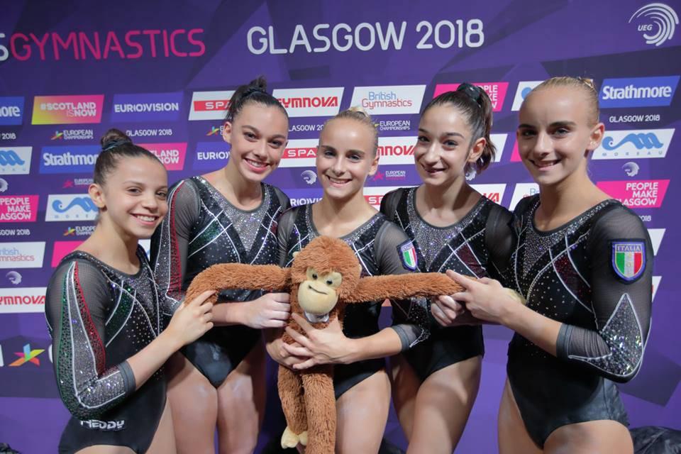 Giorgia Villa - Campionati Europei juniores ginnastica artistica