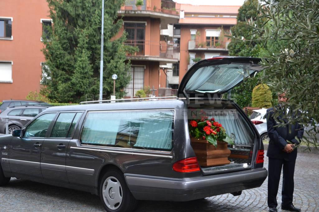 I funerali di Paola Romagnoli