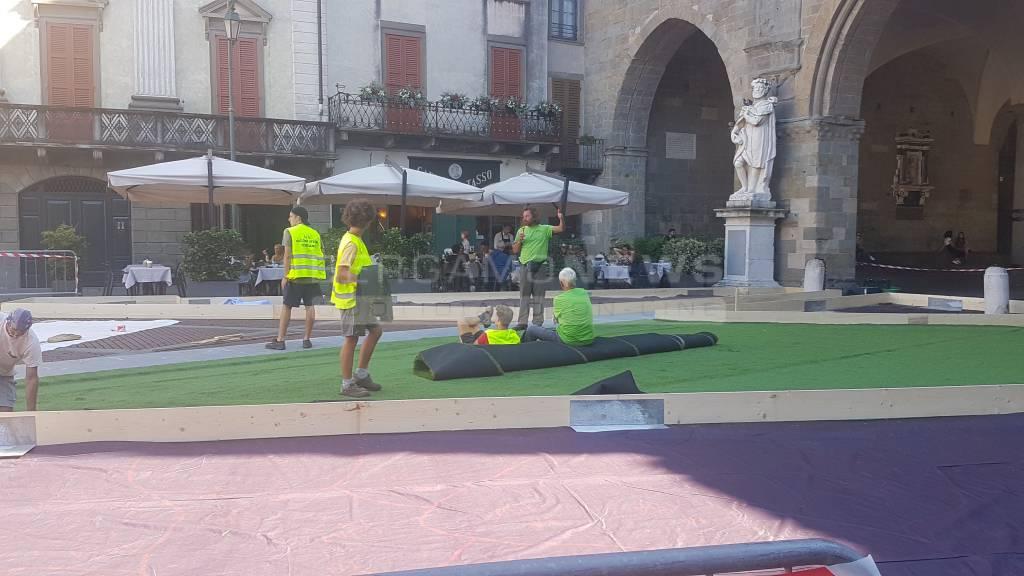 """"""" I Maestri del Paesaggio"""", al via i lavori in Piazza Vecchia"""
