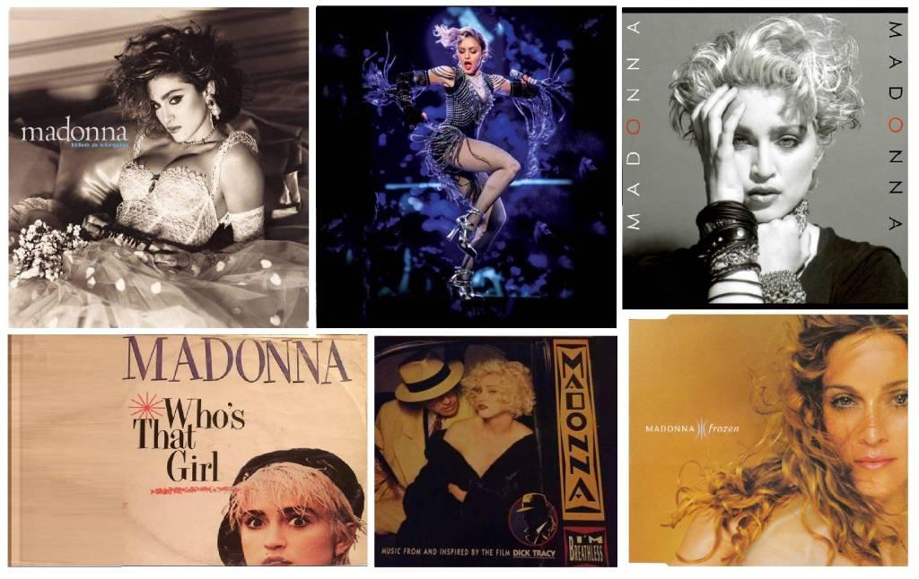 Madonna copertine