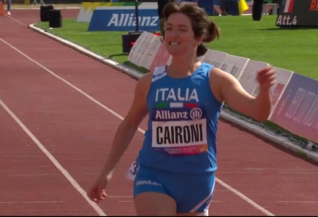 Martina Caironi - Campionati Europei Paraolimpici 2018