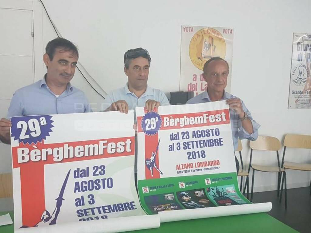 Presentazione Berghem Fest 2018