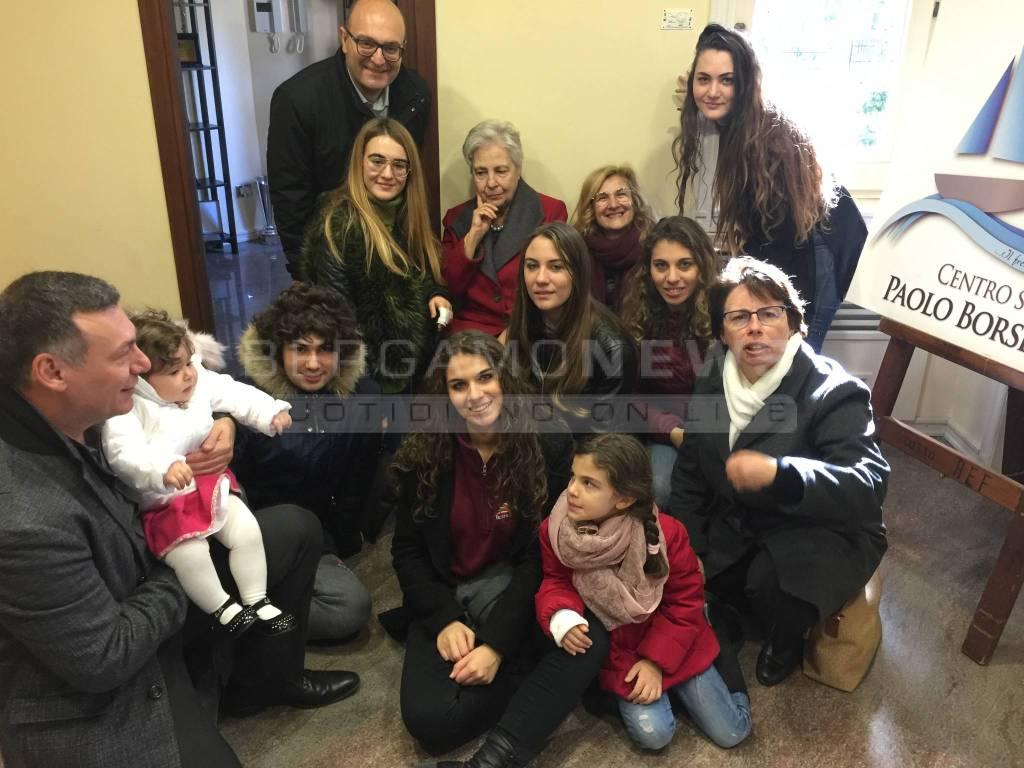 Rita Borsellino famiglia misiani