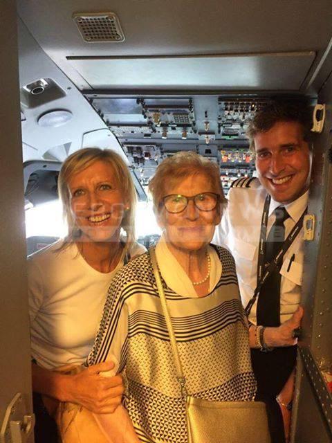 Per Il Compleanno Di Nonna Luigia Un Viaggio A Lourdes L Aereo Lo