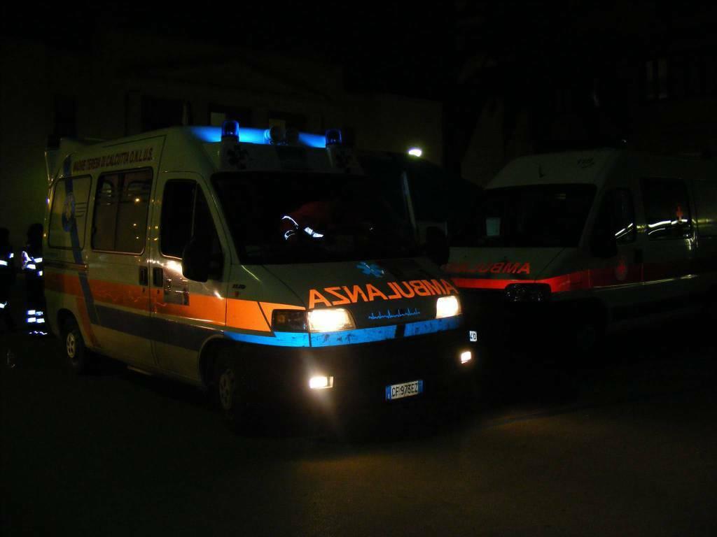 ambulanze notte
