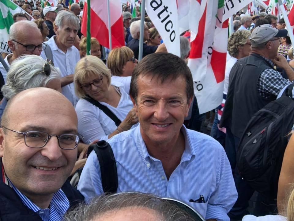 Anche il Pd bergamasco manifesta contro Lega e M5S