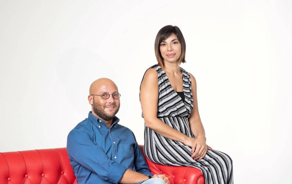 Andrea Ubbiali e Jlenia Rampino