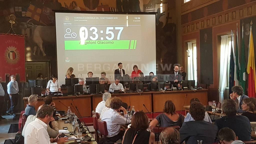 Consiglio Comunale Bergamo 10 settembre 2018