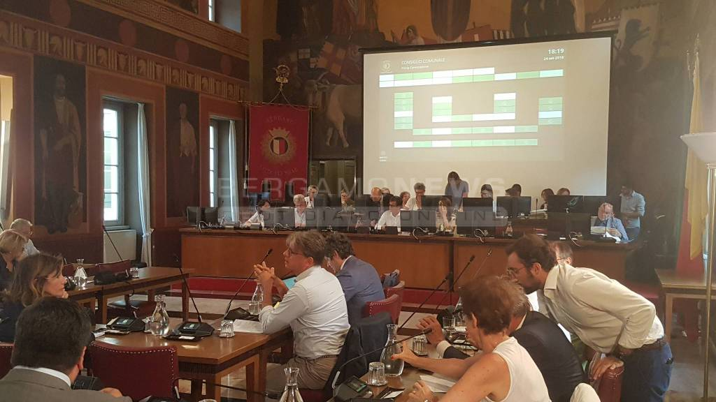Consiglio Comunale Bergamo 24 settembre 2018