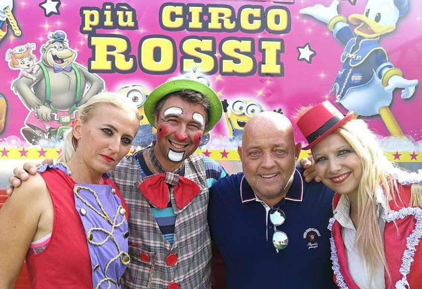 ghislandi e il circo rossi