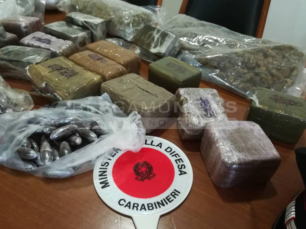 In cameretta 15 kg di droga: arrestato