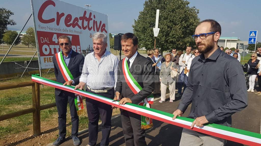 Inaugurazione pista ciclabile boccaleone