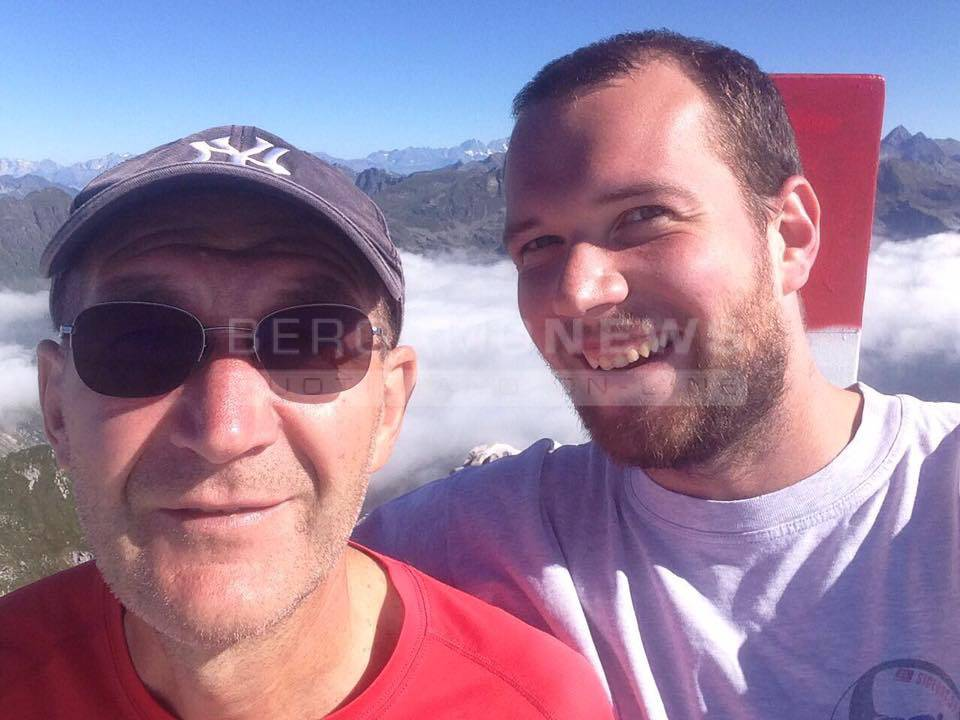 Matteo Luzzana e la traversata in onore del papà