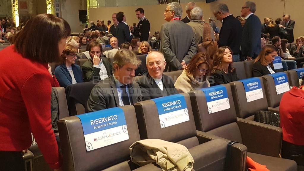 BergamoScienza 2018, l'inaugurazione
