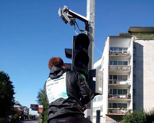impianto semaforico hi-tech