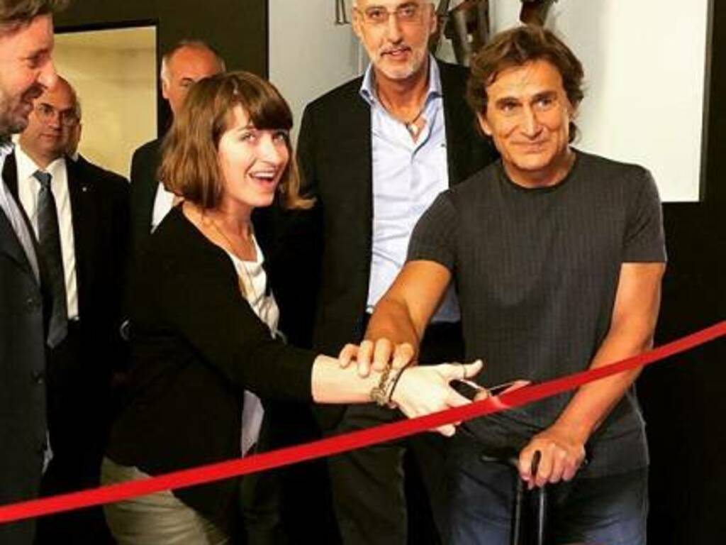 Martina Caironi e Alex Zanardi