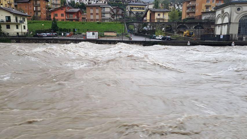fiume Brembo San Pellegrino