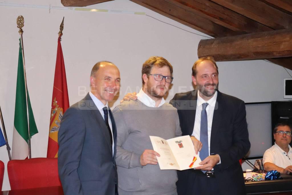 "Consegna benemerenze provinciali ""Bruno Stilliti"" 2018"