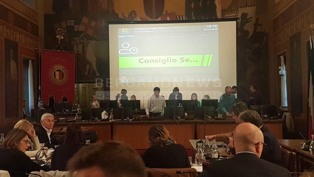 Consiglio Comunale Bergamo - 22 ottobre 2018
