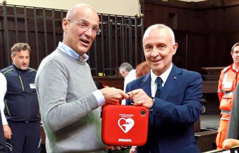 defibrillatori alla Procura