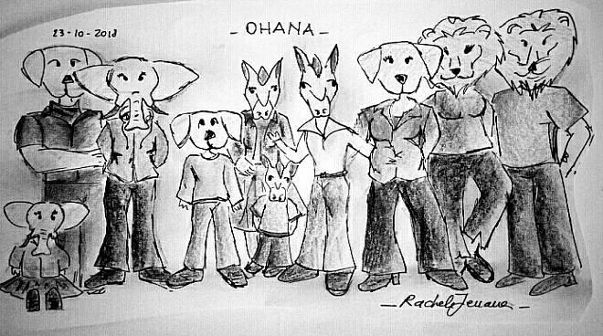 famiglia allargata _ rachele
