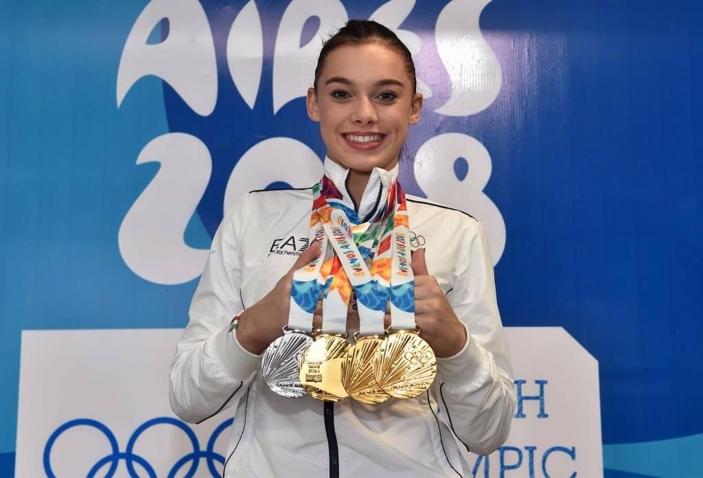 Giorgia Villa - Olimpiadi Giovanili 2018