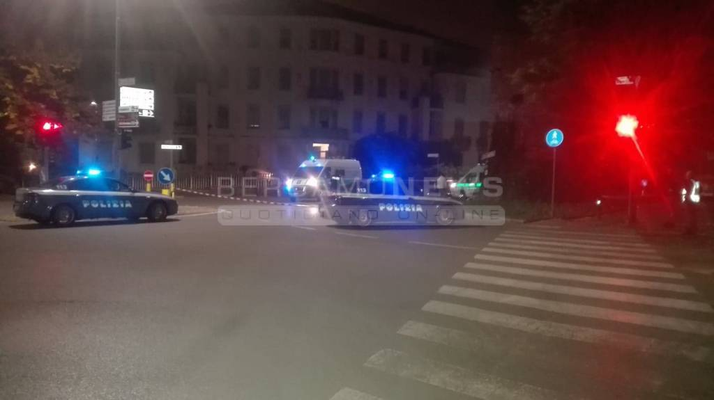 Il grave incidente in via Pitentino