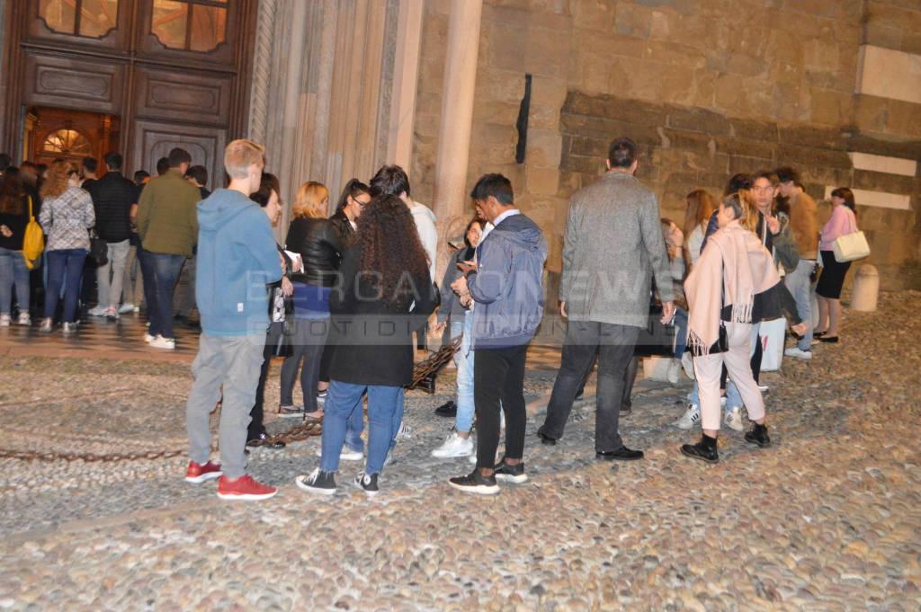 Liliana Segre a Bergamo per Molte fedi sotto lo stesso cielo
