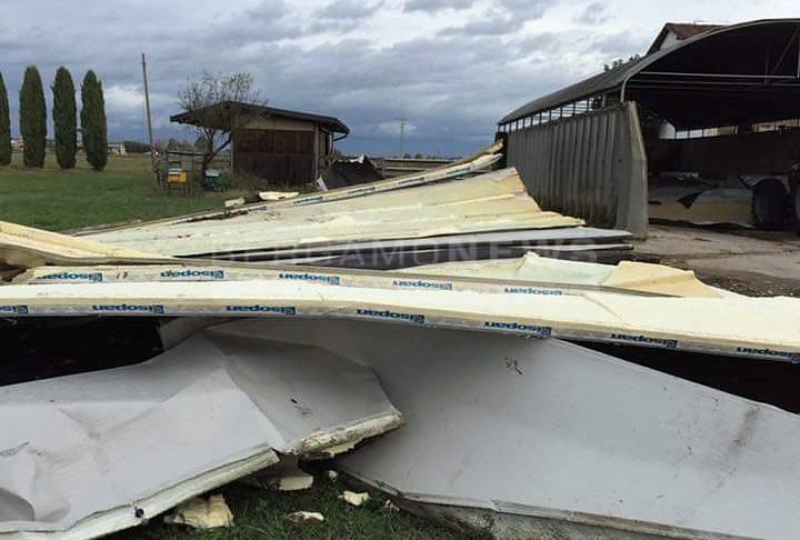 Maltempo, danni in tutta la provincia