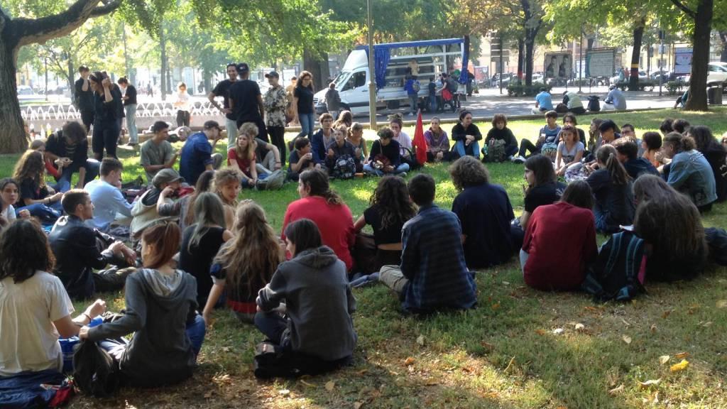 Manifestazione studentesca