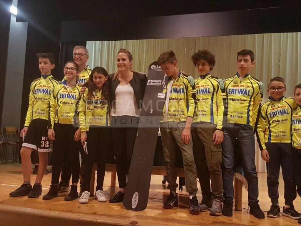 Michela Moioli - Olimpiadi a Pontida