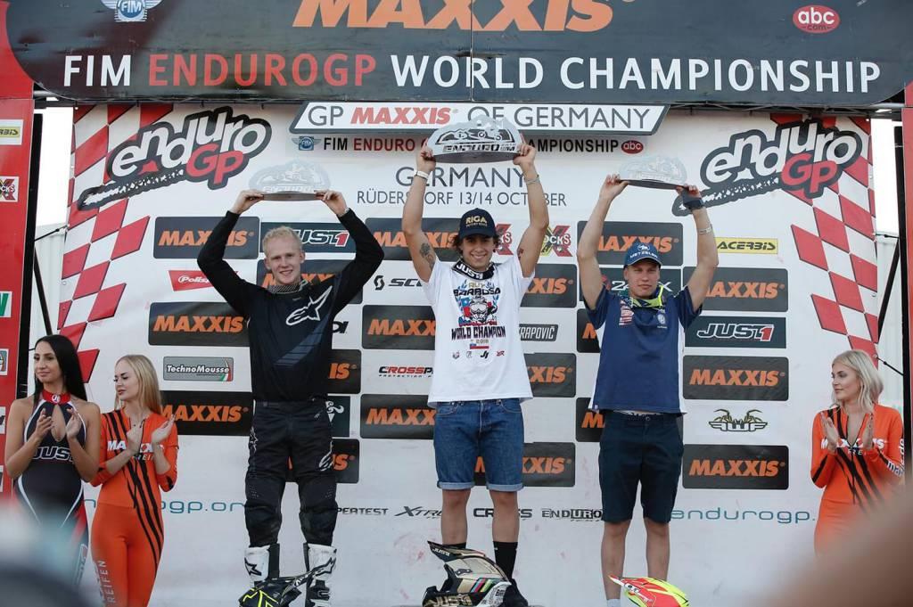 Ruy Barbosa sul podio in Germania
