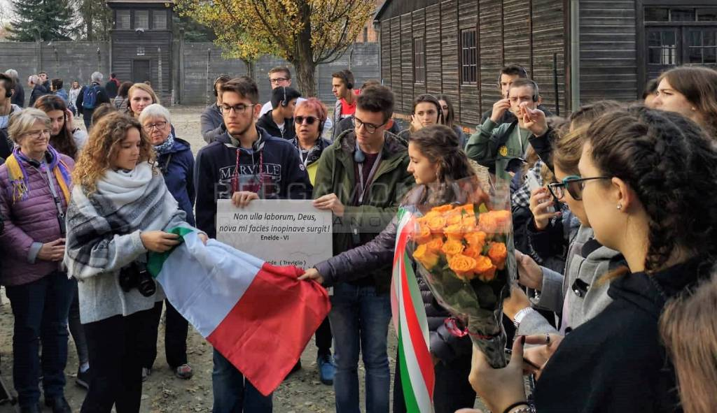 Studenti ad Auschwitz