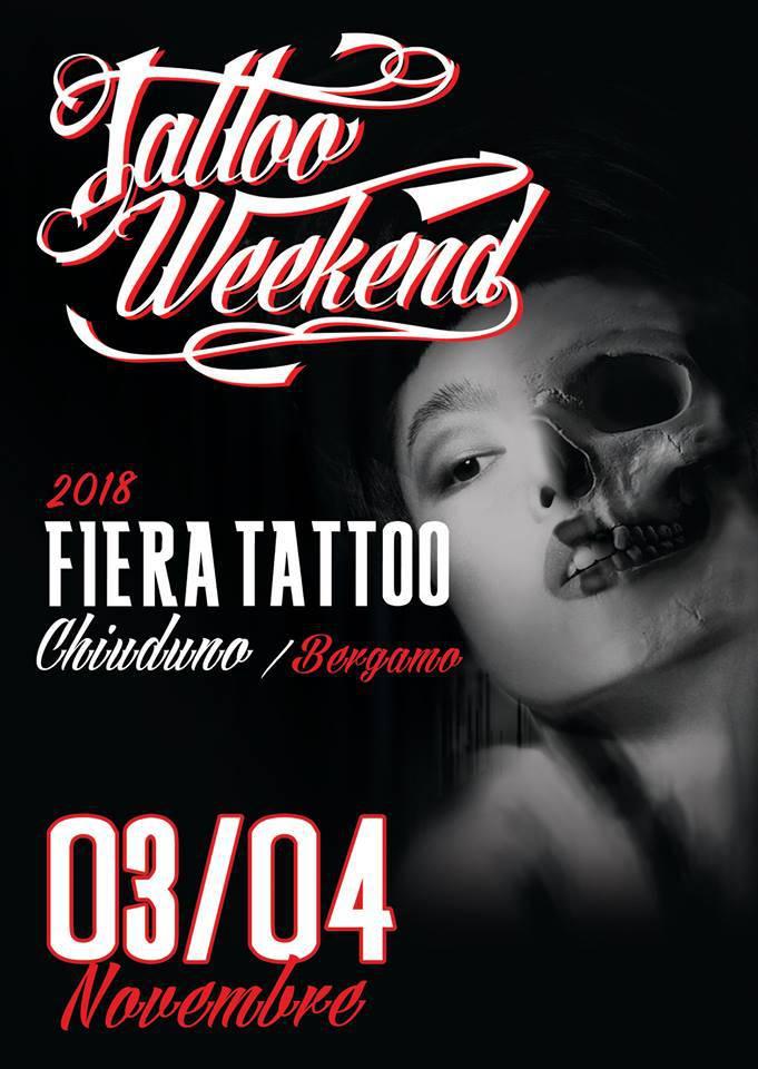 """""""Tattoo week-end"""", festival del tatuaggio a Chiuduno"""
