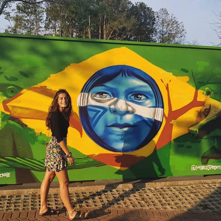 Arianna La Neve in Brasile