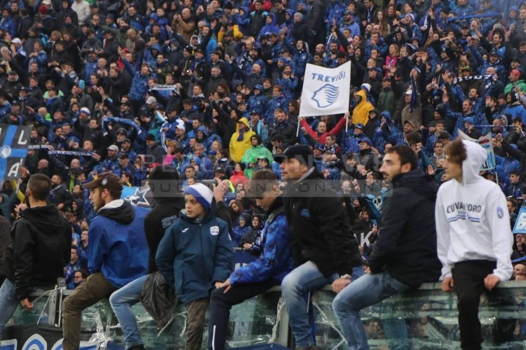 Atalanta-Inter, i tifosi