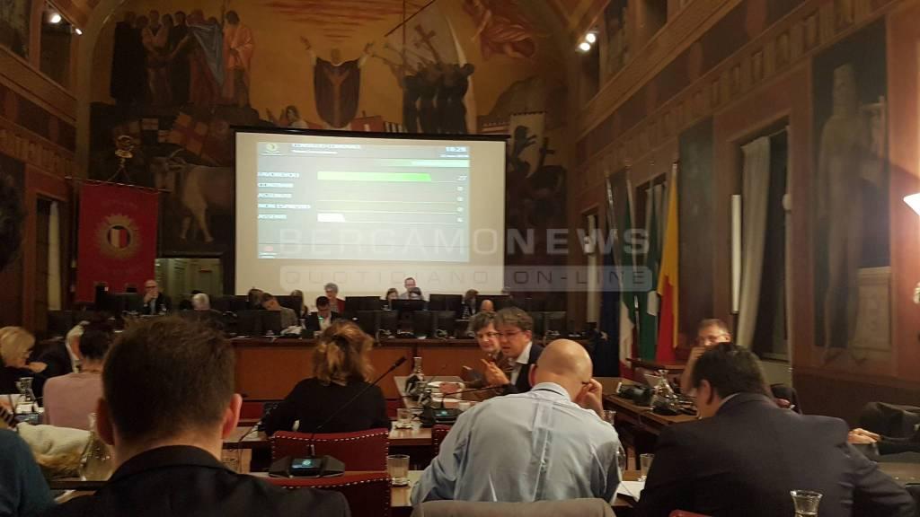 Consiglio comunale Bergamo - 12 novembre 2018