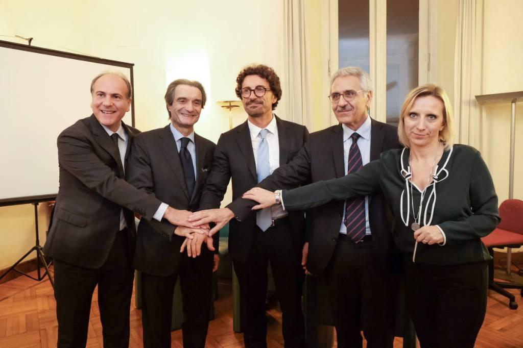 Incontro Trenord Fontana - Toninelli
