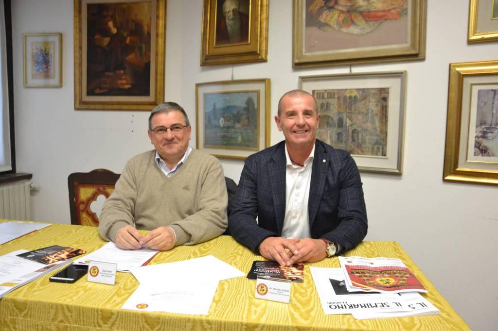 Mario Morotti e Massimo Boffelli